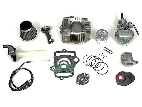 BBR 88cc Flat Top Piston Bore Kit