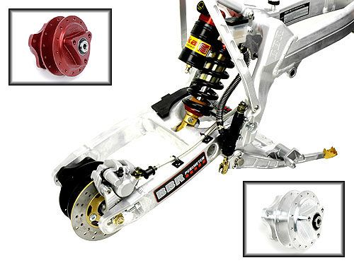 BBR CRF/XR50 Rear Disc Brake Kit