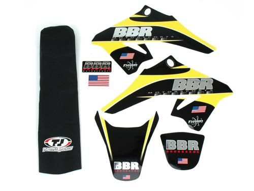 Graphics Kit - BBR Chrome, W/Seat Cover / DRZ70, 08-Present