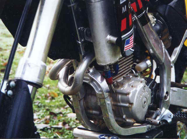 XR250 Motor stuffed in a CR125 chassis